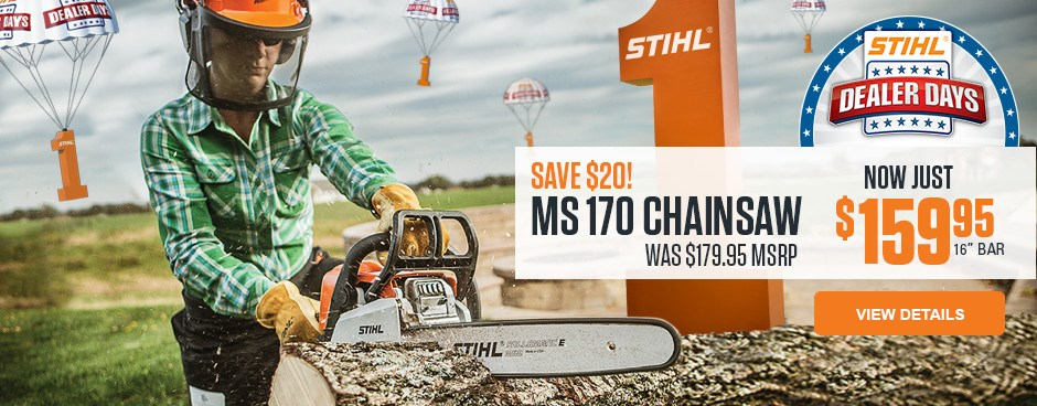 Dealer Days MS 170 Chainsaw